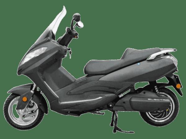 Puma X električni motor, pogled s boka
