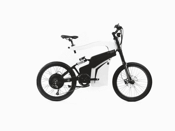 Experience e bicikl, desni profil