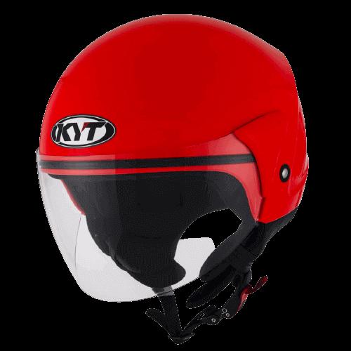 Jet kaciga KYT Cougar crvena